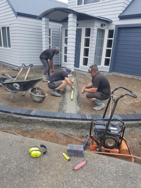 Firth Holland Pavers laying